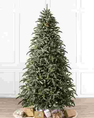 BH Noble Fir Narrow Pre Fluffed Tree by Balsam Hill SSC 10