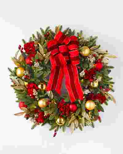 Holiday Traditions BH Fraser Fir Wreath by Balsam Hill