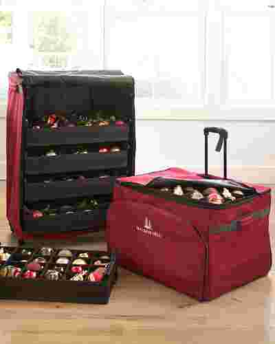 120-Piece Deluxe Rolling Ornament Chest by Balsam Hill Lifestyle 10