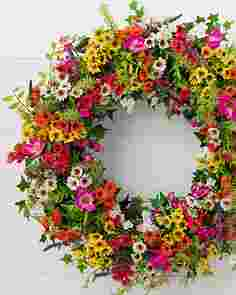 Outdoor Meadow Wreath by Balsam Hill SSCR