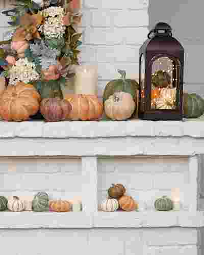 Tabletop Heirloom Pumpkins by Balsam Hill