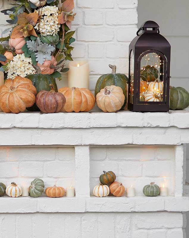 Tabletop Heirloom Pumpkins by Balsam Hill