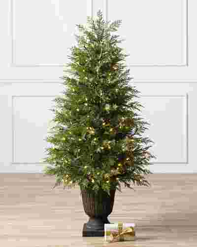 Cone Cedar Topiary by Balsam Hill SSC 10