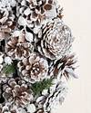 Frosted Pinecone Wreath by Balsam Hill