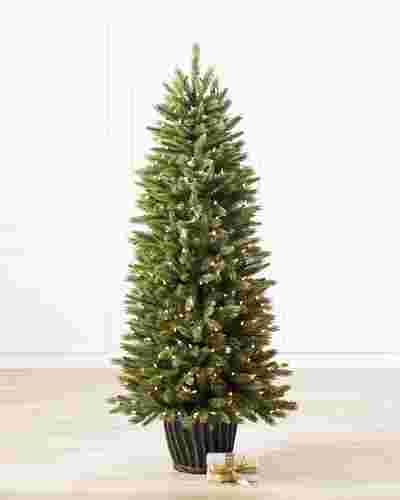 Rutherford Fir Potted Tree by Balsam Hill SSC 10