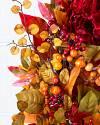 Outdoor Merlot Hydrangea Wreath by Balsam Hill