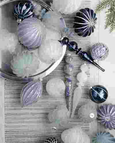 Midnight Frost Ornament Set by Balsam Hill Lifestyle 10