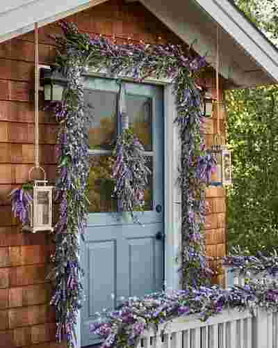 Provencal Lavender Foliage by Balsam Hill Lifestyle 40
