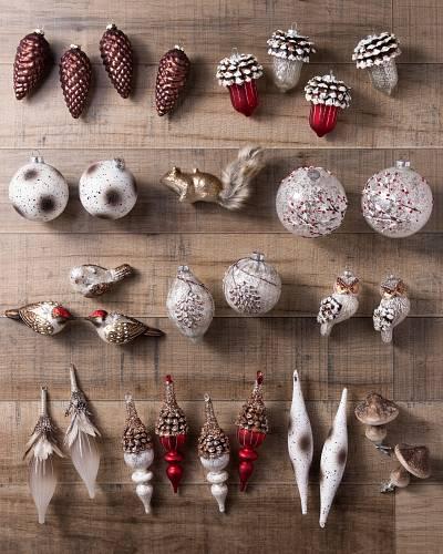 Alpine Grove Ornament Set