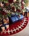Royal Garnet Tree Skirt by Balsam Hill Lifestyle 10