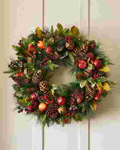 Charlestown Decorated Foliage By Balsam Hill SSC 10
