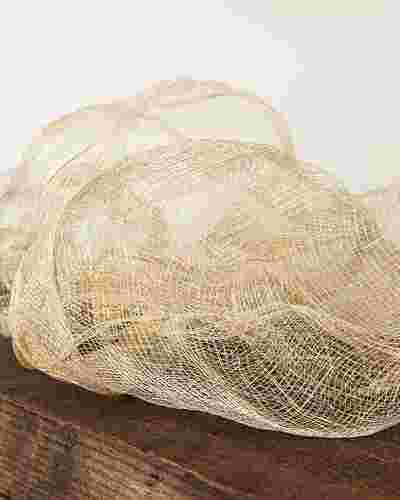Gold Flexible Woven Decorating Ribbon by Balsam Hill SSC 10