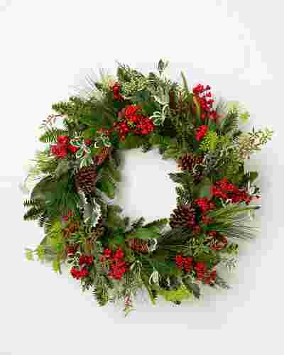 Hollybrook Lane Wreath by Balsam Hill SSC