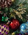 Outdoor Kaleidoscope Wreath by Balsam Hill Closeup 10