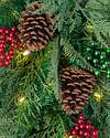 Winter Evergreen Swag by Balsam Hill Closeup 10
