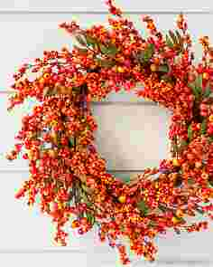 Fall Berry Wreath by Balsam Hill SSCR
