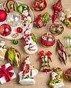 Mistletoe and Holly Glass Ornament Set, 35 Pieces by Balsam Hill Lifestyle 10