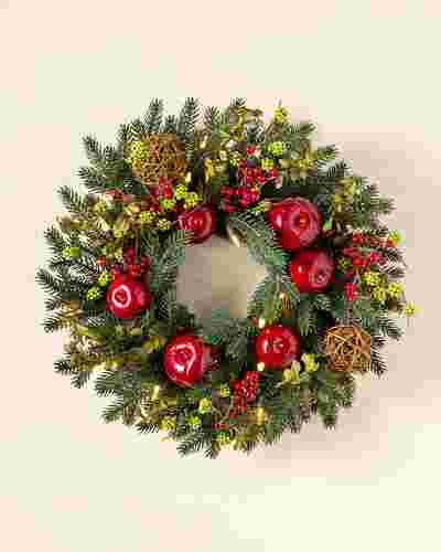 Norway Spruce Holiday Wreath by Balsam Hill SSC 15