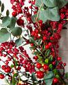 Mixed Berry Festive Foliage by Balsam Hill Closeup 20