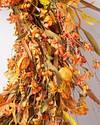 Sunset Meadow Wreath by Balsam Hill Closeup 20