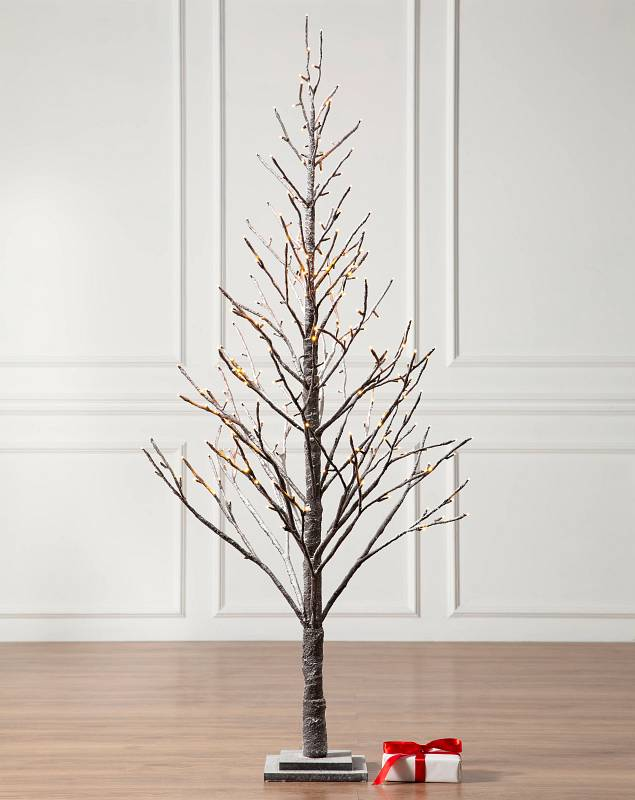 6ft Snowy Branch LED Tree by Balsam Hill