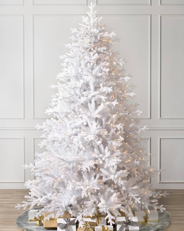 Denali White Christmas Tree by Balsam Hill SSC 10