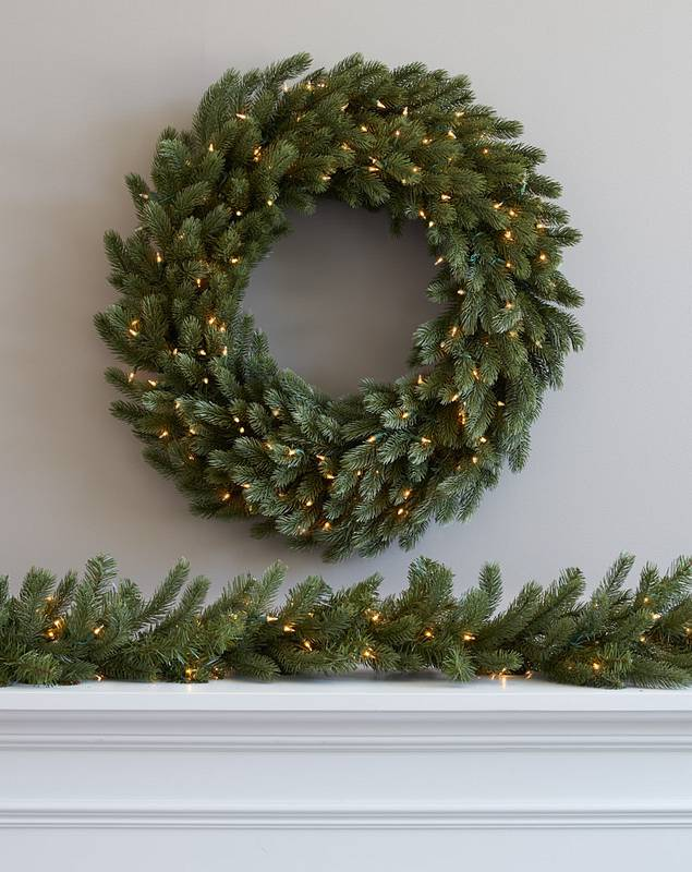 Vermont White Spruce by Balsam Hill Lifestyle 30