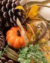 Autumn Abundance Artificial Wreath by Balsam Hill Closeup 20