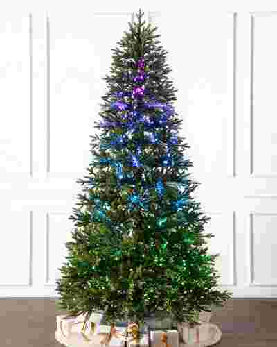 Broadway Fiber Optics Tree by Balsam Hill SSC