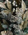 Nicole Miller Champagne Wreath by Balsam Hill Closeup 10