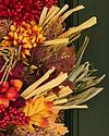 Country Fields Wreath by Balsam Hill Detail