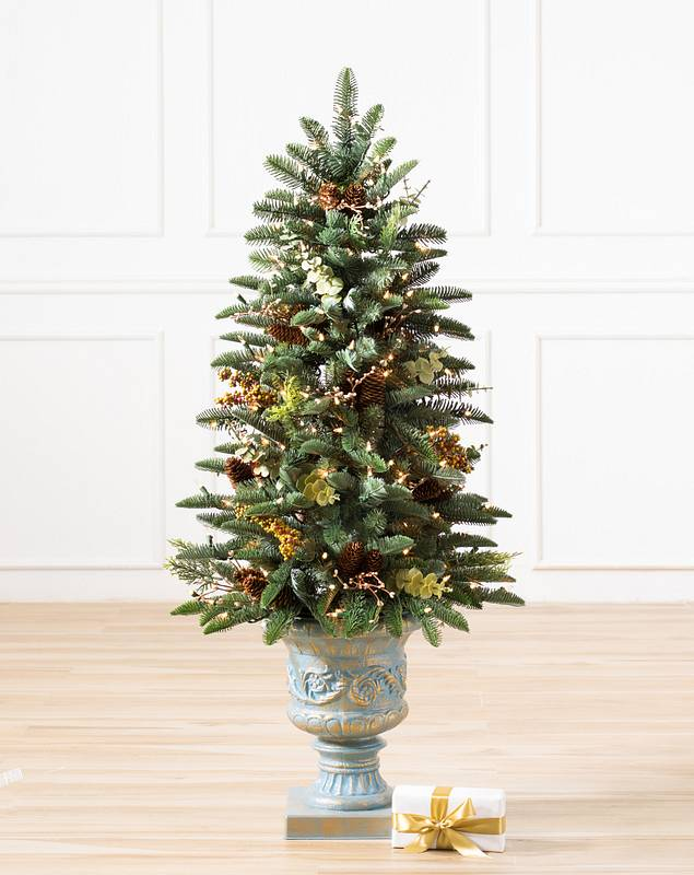 Mountain Meadow Potted Tree by Balsam Hill SSC 10