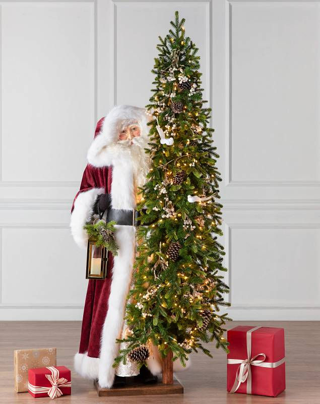 6' Life-Size Classic Biltmore Santa by Balsam Hill