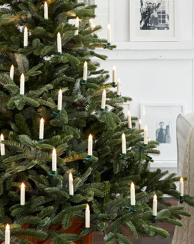 Color Changing LED Christmas Tree Candles, Set of 20 by Balsam Hill SSC 10