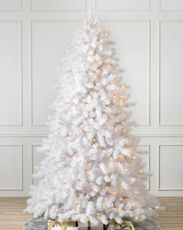 Classic White Christmas Tree by Balsam Hill SSC 10