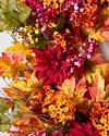 Outdoor Harvest Bloom Wreath by Balsam Hill Closeup 10