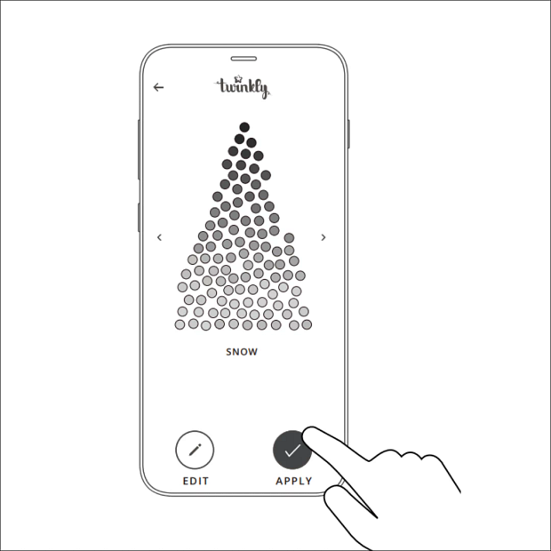 Illustrated Twinkly mapping instructions