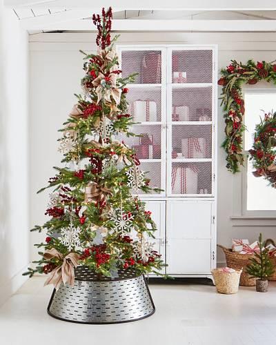 Rustic Galvanized Snowflake Christmas Ornaments Balsam Hill